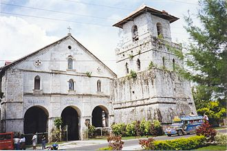 Baclayon Church - Image: Baclayon church 1596