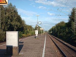Welver station - Platforms