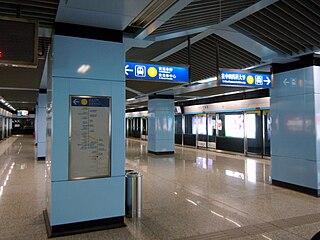 Baijiahu station Nanjing Metro station