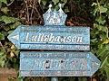 Balise (historique) sentier pédestre des auberges de jeunesse Lultzhausen-Ettelbruck.jpg