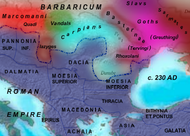 Roman provinces in Southeastern Europe