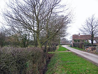 Balkholme Hamlet in the East Riding of Yorkshire, England