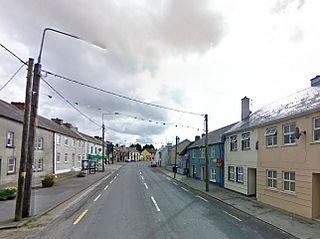 Ballyhale Village in Leinster, Ireland