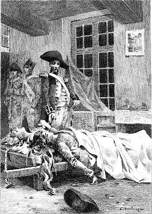 Les Chouans - Illustration of Les Chouans by Édouard Toudouze, 1897
