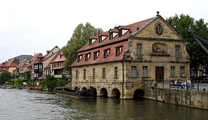 University of Bamberg - A former slaughter house which accommodates the Institute of Geography today