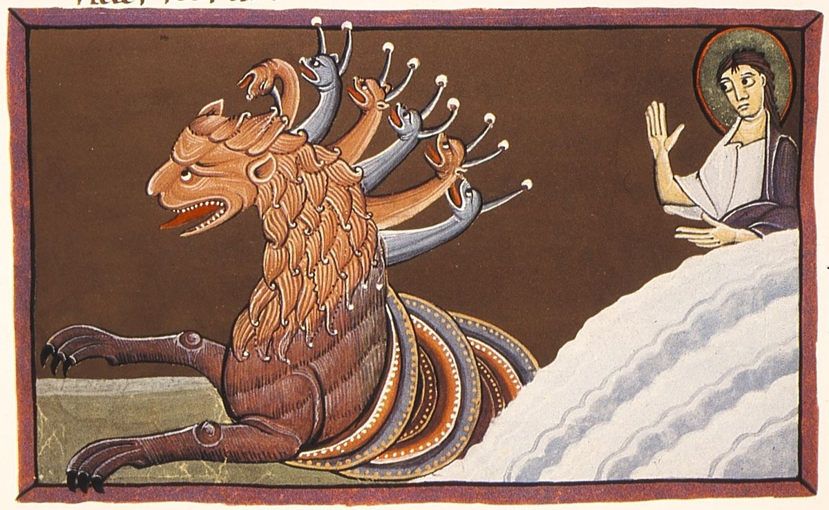 Risultati immagini per bestia apocalisse