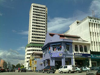 Segamat (town) - The tallest building in Segamat which formerly houses banks and shopping centres, now it is abandoned and it was refurbished as a swiftlet bird nest building.
