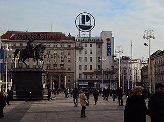 Ban Jelačić Square - Image: Banjelaciczg
