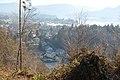 Bannwaldweg 8 in Poertschach Blick auf den Querweg 29112013 249.jpg