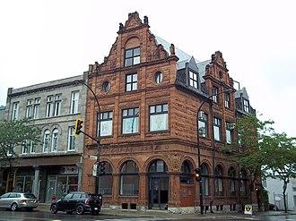 Bank of Montreal National Historic Site - Image: Banque de Montreal Notre Dame et des Seigneurs 03