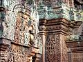 Banteay Srei - 042 Decorative Work (8581518749).jpg