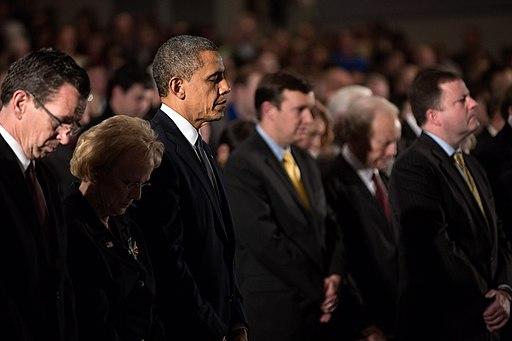 Barack Obama at Sandy Hook interfaith vigil
