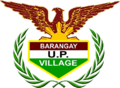 Barangay UP Village New Seal.png