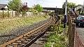 Barassie railway station, old Kilmarnock line platform, South Ayrshire.jpg