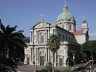 church building in Barcellona Pozzo di Gotto, Italy