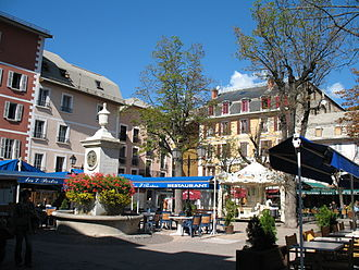 Barcelonnette - Place Manuel