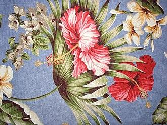 Barkcloth - Image: Barkcloth style skirt weight cotton