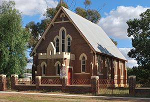 Presbyterian Church of Australia - St Paul's Presbyterian Church in Barmedman, New South Wales.