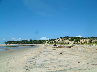 Inhambane - Barra beach (Ponto do Barra)