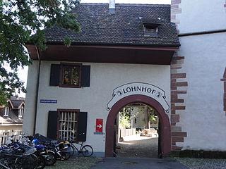 Lohnhof, Basel, by Mattes via Wikimedia Commons