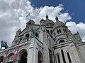Basilique Sacré Cœur Montmartre façade sud Paris 14.jpg