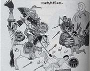Sitio de Tenochtitlan, según el Códice Florentino
