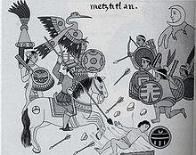 Tenochtitlan, secondo il Códice Fiorentino