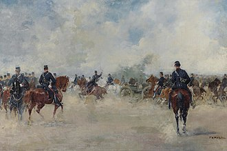 Farsala - The Battle of Farsala by Georgios Roilos (1867–1928).
