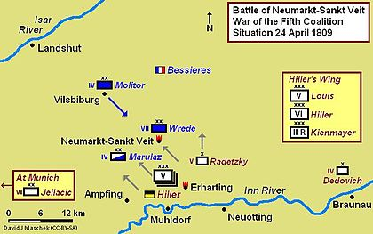Battle of Neumarkt-Sankt Veit, 24 April 1809