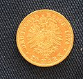 Bayern Ludwig II 1874 20 Mark Revers.JPG