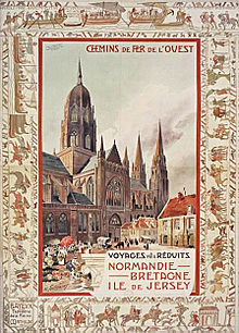 Affiche touristique par Henri Toussaint