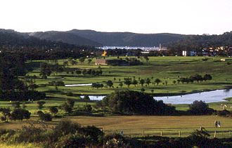 Mona Vale, New South Wales - Mona Vale Golf Course in the late afternoon
