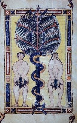 Beatus Escorial - 18 Adam and Eve