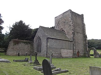 Beauchief Abbey - Beauchief Abbey from the north-east