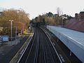 Beckenham Hill stn high southbound.JPG