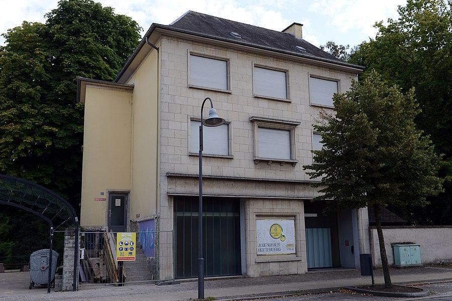 D'Beetebuerger Jugendhaus op der Escherstrooss zu Beetebuerg.