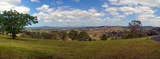 Bega, New South Wales - Panorama of Bega and the Bega Valley
