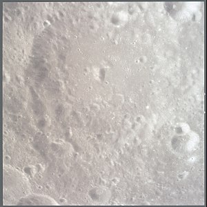Beijerinck (crater) - Image: Beijerinck lunar crater