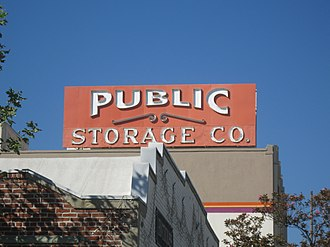 National Register of Historic Places listings in Pasadena, California - Image: Bekins Storage Co. Roof Sign 2013 02