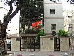 Luettelo diplomaattisista edustustoista Israelissa – Wikipedia