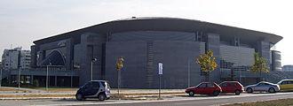 Štark Arena - Belgrade Arena north-west.