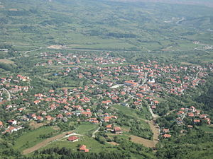 Beli Potok (Belgrade) - View of the Beli Potok from the Avala tower.