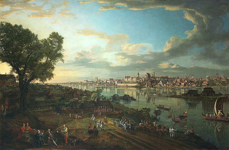 Bellotto View of Warsaw from Praga