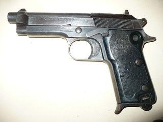 Italian semi-automatic pistol