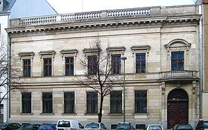 Mendelssohn & Co. - Image: Berlin, Mitte, Jägerstraße 49 50, Bankhaus Mendelssohn & Co 05