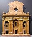 Bernardo buontalenti, modello per la nuova facciata del duomo di firenze, 1590 circa.JPG
