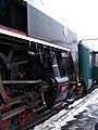 Beroun, Křivoklát expres (prosinec 2012), lokomotiva.jpg