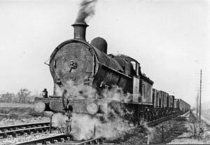 LNWR Class G1 - Ex-LMS No. 9171 - still unrenumbered in 1951, built as a G1 in May 1912 and withdrawn not long after this photograph in February 1952