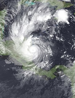 Hurricane Beta Category 3 Atlantic hurricane in 2005