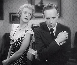 Bette Davis en Leslie Howard in Of Human Bondage